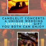 wedding anniversary idea candlelit concert date night